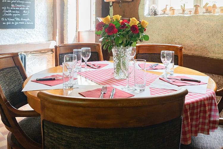 Restaurant Auberge Les mancelles - Massif du sancy (63)